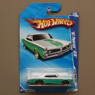 Hot Wheels 2010 Faster Than Ever '67 Pontiac GTO (teal/white)