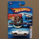 Hot Wheels 2005 First Editions (Realistix) '69 Pontiac Firebird T/A (white) (Faster Than Ever)