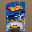 Hot Wheels 2002 First Editions 2001 Mini Cooper (yellow)