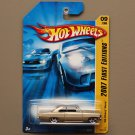 Hot Wheels 2007 First Editions '66 Chevy Nova (champagne)