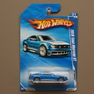 Hot Wheels 2010 HW Garage 2010 Ford Mustang GT (blue)