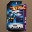 Hot Wheels 2007 Pop-Offs Series Morris Mini Cooper (white)