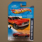 Hot Wheels 2012 Muscle Mania Ford '70 Ford Mustang Mach 1 (red)