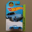 Hot Wheels 2015 HW Workshop Porsche 934 Turbo RSR (blue)