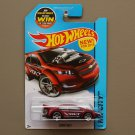 Hot Wheels 2015 HW City Chevrolet Super Volt (burgundy)