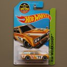 Hot Wheels 2015 HW Workshop '71 Datsun Bluebird 510 Wagon (yellow)