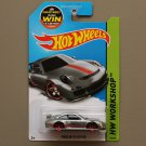 Hot Wheels 2015 HW Workshop Porsche 911 GT3 RS (ZAMAC silver - Walmart Excl.)