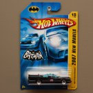 Hot Wheels 2007 New Models '66 Classic TV Batmobile (Batman)