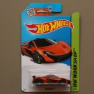 Hot Wheels 2015 HW Workshop McLaren P1 (orange) (SEE CONDITION)