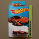 Hot Wheels 2015 HW Workshop McLaren P1 (orange)
