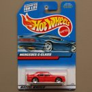 Hot Wheels 2000 Collector Series Mercedes C-Class (red)
