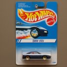 Hot Wheels 1995 Collector Series BMW 850i (blue)