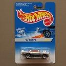 Hot Wheels 1996 Silver Series II '57 Chevy (chrome)