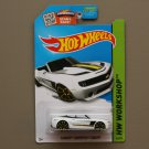 Hot Wheels 2015 HW Workshop Camaro Convertible Concept (white) (SEE CONDITION)