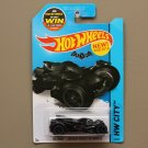 Hot Wheels 2015 HW City Batman Arkham Knight Batmobile (SEE CONDITION)