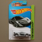 Hot Wheels 2015 HW Workshop McLaren P1 (silver)