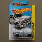 Hot Wheels 2015 HW Off-Road '15 Ford F-150 (silver)