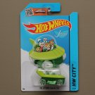 Hot Wheels 2015 HW City The Jetsons Capsule Car