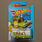 Hot Wheels 2015 HW City The Homer (The Simpsons) (green)