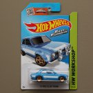 Hot Wheels 2015 HW Workshop '70 Ford Escort RS1600 (blue) (Fast & Furious)