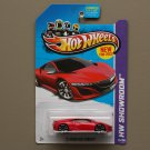 Hot Wheels 2013 HW Showroom '12 Acura NSX Concept (red)