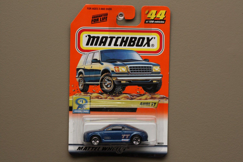 Matchbox 2000 Series 9 Audi TT (blue) (SEE CONDITION)