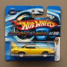 Hot Wheels 2006 First Editions '70 Plymouth Superbird (yellow)