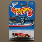 Hot Wheels 2000 First Editions Ferrari 333 SP (red) (SEE CONDITION)