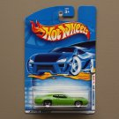 Hot Wheels 2001 First Editions '71 Plymouth GTX (green)
