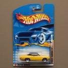 Hot Wheels 2002 Hot Rod Magazine Series '70 Plymouth Road Runner (yellow)