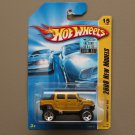 Hot Wheels 2008 New Models Hummer H2 SUT (gold)