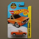 Hot Wheels 2015 HW Off-Road Volkswagen Caddy (orange) (SEE CONDITION)