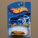 Hot Wheels 2002 First Editions Hyundai Spyder Concept (gold)