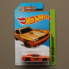 Hot Wheels 2015 HW Workshop Dodge Challenger Concept (orange)