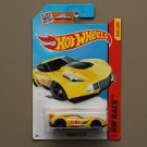 Hot Wheels 2015 HW Race Corvette C7R (yellow)
