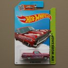 Hot Wheels 2015 HW Workshop '65 Ford Ranchero (magenta)