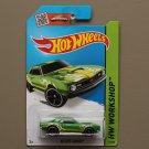Hot Wheels 2015 HW Workshop '68 COPO Camaro (green)