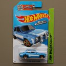Hot Wheels 2015 HW Workshop '70 Ford Escort RS1600 (blue) (Fast & Furious) (SEE CONDITION)