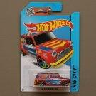 Hot Wheels 2015 HW City '67 Austin Mini Van (red)
