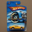 Hot Wheels 2005 Muscle Mania '71 Plymouth GTX (yellow)
