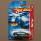 Hot Wheels 2007 Code Cars Mitsubishi Eclipse Concept Car (blue)