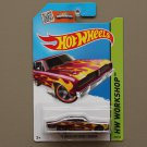 Hot Wheels 2015 HW Workshop '74 Brazilian Dodge Charger (maroon)