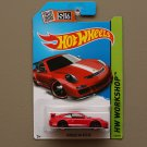 Hot Wheels 2015 HW Workshop Porsche 911 GT3 RS (red) (SEE CONDITION)