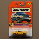 Matchbox 1998 Series 10 '97 MGF 1.8i (yellow)