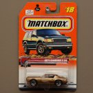 Matchbox 2000 Series 6 '71 Camaro Z-28 (bronze) (SEE CONDITION)