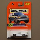 Matchbox 1997 Series 8 Porsche 911 GT-1 (white)