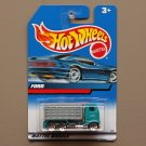 Hot Wheels 1999 Collector Series Ford Stake Bed Truck (teal/grey)