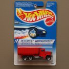 Hot Wheels 1994 Model Series Peterbilt Workhorse (red) (SEE CONDITION)