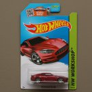 Hot Wheels 2015 HW Workshop Aston Martin DBS (burgundy)