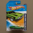 Hot Wheels 2012 Muscle Mania Ford '72 Ford Gran Torino Sport (green) (w/ wheel variation)